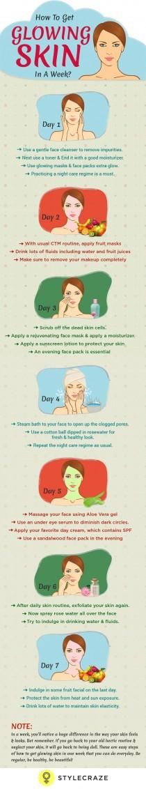 wedding photo - How To Get Glowing Skin In 7 Days - With Day By Day Instructions