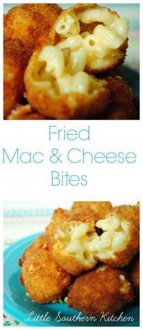 wedding photo - Fried Mac And Cheese Bites