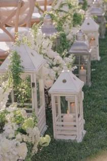 wedding photo - Elegant Garden Wedding Ceremony Ideas