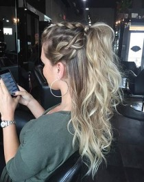 wedding photo - 25 Elegant Ponytail Hairstyles For Special Occasions