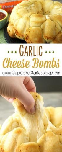 wedding photo - Garlic Cheese Bombs