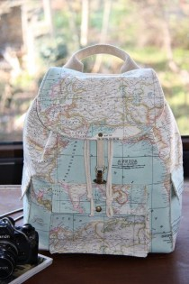 wedding photo - World Map Prints Backpack/Atlas Large Backpack/Travel,School,Daily Backpack/Unisex Rucksack /Earth