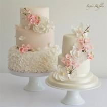wedding photo - Cherry Blossom Wedding Cakes
