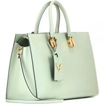 wedding photo - Valentino My Rockstud Leather Tote