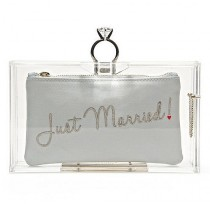 wedding photo - Every Bride Will Want To Carry One Of These 21 Chic Bridal Clutches