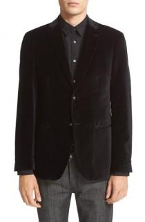 wedding photo - John Varvatos Star USA Trim Fit Velvet Dinner Jacket