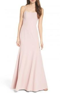 wedding photo - WTOO Convertible Strap Chiffon Gown