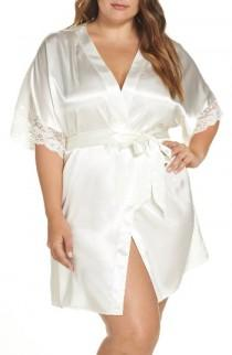 wedding photo - Flora by Flora Nikrooz Emma Wrap (Plus Size)