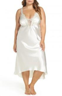 wedding photo - Flora by Flora Nikrooz Stella Nightgown (Plus Size)
