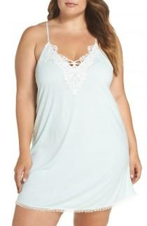 wedding photo - Flora by Flora Nikrooz Blake Chemise (Plus Size)