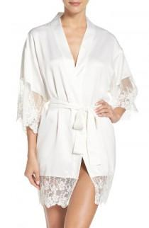 wedding photo - Flora Nikrooz Farrah Charmeuse Robe