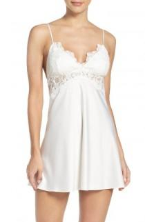 wedding photo - Flora Nikrooz Farrah Charmeuse Chemise