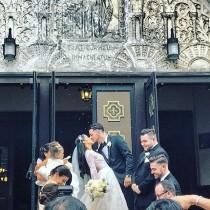 wedding photo - Monique Lhuillier Bride