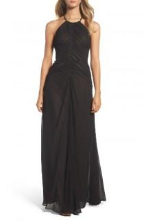 wedding photo - Vera Wang Shirred Chiffon Gown