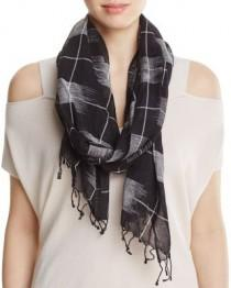 wedding photo - Eileen Fisher Windowpane Scarf