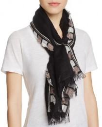 wedding photo - Fraas Multi Fringe Scarf