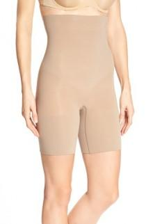 wedding photo - SPANX® Higher Power Mid-Thigh Shaping Shorts (Regular & Plus Size)