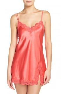 wedding photo - In Bloom by Jonquil Satin Chemise