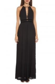 wedding photo - TFNC Aberda Plunging Keyhole Maxi Dress