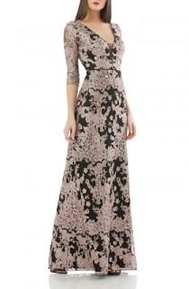 wedding photo - JS Collections Embroidered Lace Gown