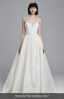 wedding photo - nouvelle AMSALE Carey Lace & Taffeta Ballgown