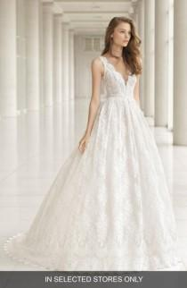 wedding photo - Rosa Clara Embellished Lace Princess Gown