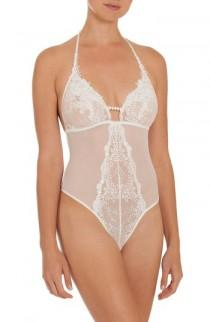 wedding photo - In Bloom by Jonquil Sheer Thong Bodysuit