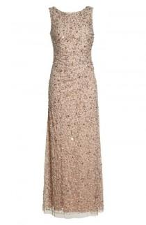 wedding photo - Adrianna Papell Drape Back Gown