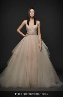 wedding photo - Lazaro Embellished Bodice Ballgown