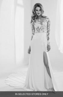 wedding photo - Atelier Pronovias Raine Embellished Illusion Mermaid Gown