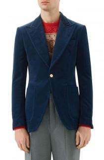 wedding photo - Gucci Velvet Jacket
