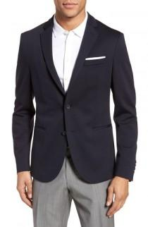 wedding photo - BOSS Norwin Trim Fit Wool Blend Sport Coat
