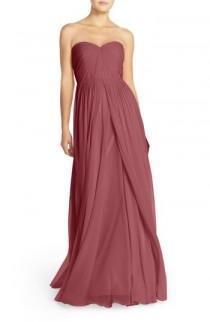 wedding photo - Jenny Yoo Mira Convertible Strapless Chiffon Gown