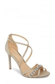 wedding photo - Jewel Badgley Mischka Gisele Sandal (Women)