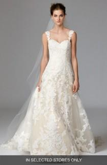 wedding photo - Watters Aven Lace & Organza A-Line Gown