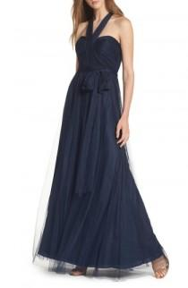 wedding photo - Jenny Yoo Annabelle Convertible Tulle Column Dress