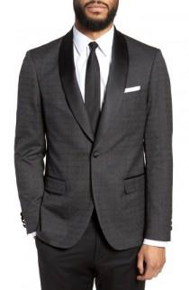 wedding photo - Strong Suit Morgan Trim Fit Wool Dinner Jacket