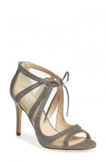wedding photo - Nina Cherie Illusion Sandal (Women)