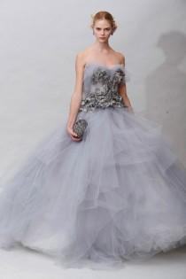 wedding photo - Special Design Lavender Tulle Gown