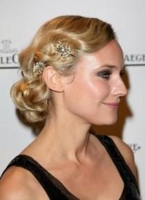 wedding photo -  Old Hollywood Hairstyle  Celebrities Wedding Hairstyle