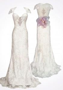 wedding photo - Special Design Designer Wedding Dresses ♥ Mystere by Claire Pettibone
