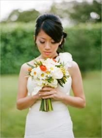 wedding photo - Daisy Bouquet