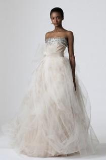 wedding photo -  Vera Wang Dorothy Wedding Dress ♥ Designer Wedding Dresses
