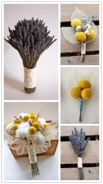 wedding photo - Rustic Wedding Bouquets