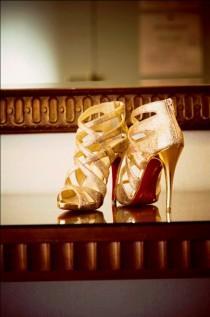 wedding photo - Sparkly Wedding Shoes