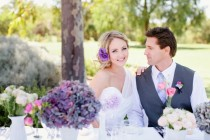 wedding photo -  Purple Wedding Inspiration