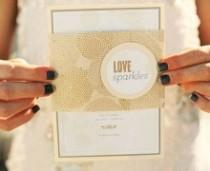 wedding photo -  Inspired By Glittering Gold Wedding Ideas