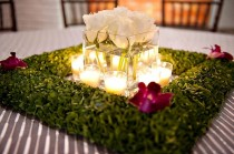 wedding photo - Wedding Table Decoration ♥ Wedding Light Options