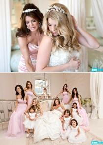 wedding photo - Breathtaking Bridesmaids