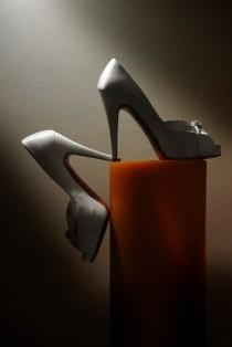 wedding photo - Schuhe machen, dass uns Squeal